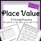 Third Grade Place Value Practice