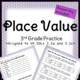 Third Grade Place Value Practice