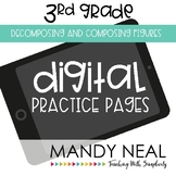 Third Grade Practice Pages~ Digital Decomposing and Compos