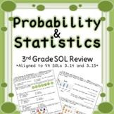 Third Grade Probability and Graphing Review