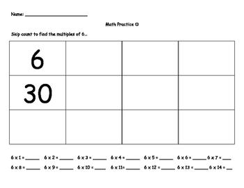 Third Grade Problem Solving Packet #2