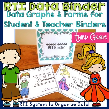 Third Grade RTI Data Binder: Graphs and Pages for Teacher