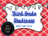 Third Grade Readiness Math Task Cards