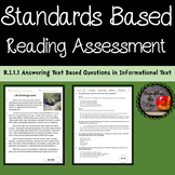 Third Grade Reading Assessment RI.1.1