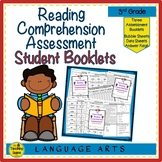 Third Grade Reading Comprehension Assessment Booklets