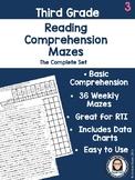 Third Grade Reading Comprehension Mazes FREE SAMPLE