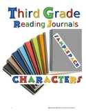 Third Grade Reading Journal SAMPLE PACK Characters