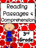 Third Grade Reading Passages and Comprehension