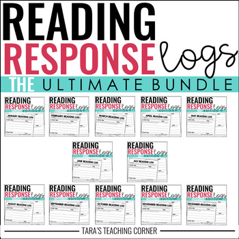Third Grade Reading Response Logs MEGA BUNDLE