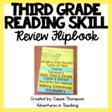 Third Grade Reading Skill Review Flipbook