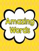 Reading Street Third Grade Amazing Word Cards (Yellow)