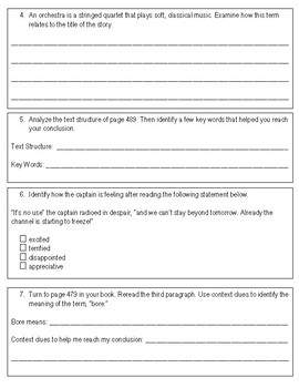 Third Grade Reading Street Assessment Bundle