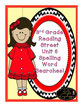 Third Grade Reading Street COMPLETE SET (units 1-6) Spelli