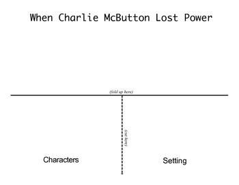 "Third Grade Reading Street® Unit 1 Week 1 Foldables - ""Charlie McButton"""