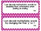 Third Grade Reading TEKS ~ Hot Pink Polka Dot