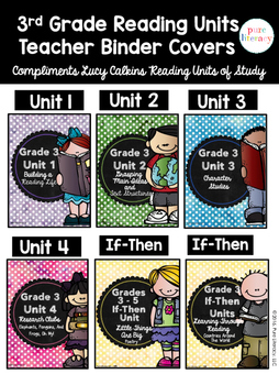 Third Grade Reading Units of Study Teacher Binder {Lucy Calkins Inspired}