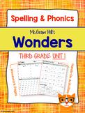 3rd Grade Reading Wonders (Unit 1) Spelling and Phonics (c