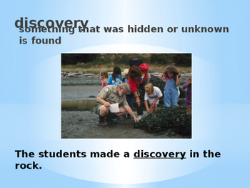 Third Grade Reading Wonders Unit 1-Week 1 Vocabulary PowerPoint