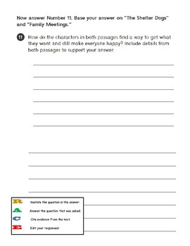 Third Grade Reading Wonders - Unit 5 Weekly Tests Answer Sheets
