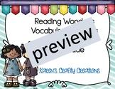 Reading Wonders Third Grade Vocabulary and Writing Process Unit 5 Week 3 BUNDLE