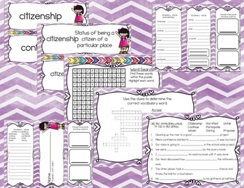 Reading Wonders Third Grade Vocabulary and Writing Process  Unit 5 Week 4 BUNDLE