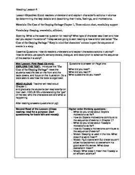 Third Grade Ready Gen Lesson 4