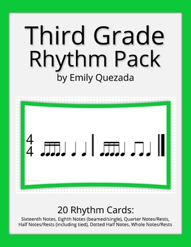 Third Grade Rhythm Pack