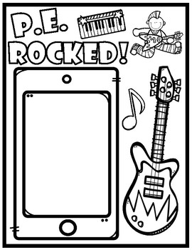 Third Grade Rocked End of School Year Booklet