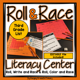Third Grade Roll and Read Editable Sight Word Centers