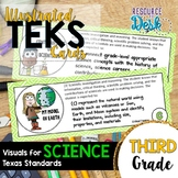 Third Grade SCIENCE TEKS - Illustrated and Organized Objec