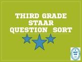 Third Grade STAAR Question Sort