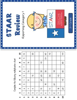Third Grade STAAR Reporting Category 1 Review