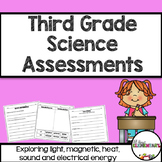 Third Grade Science Assessments