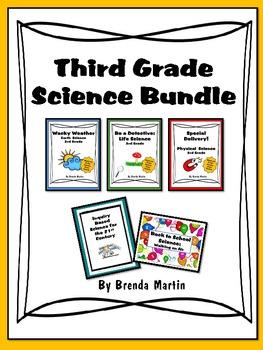 Third Grade Science Bundle