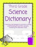 Third Grade Science Dictionary