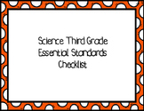 Third Grade Science Essential Standards