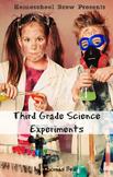 Third Grade Science Experiments