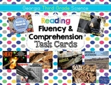Third Grade Science Task Cards for Reading Fluency & Comprehension