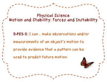 Third Grade Science Standards (NGSS) Reference Materials