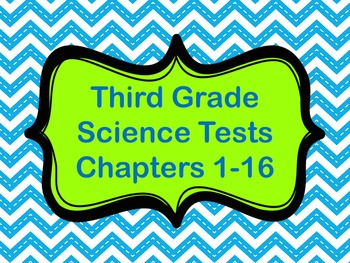 Science Tests: Third Grade
