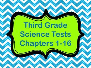 Science Tests: Third Grade
