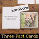 Third Grade Science Vocabulary Cards
