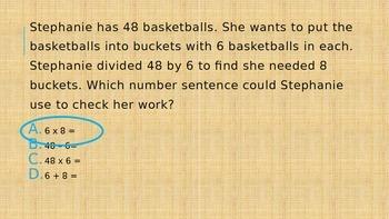 Third Grade Second Quarter Math Review