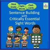 Sight Words for Sentence Building (Third)