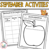 September Activities Third Grade CCSS Aligned: Apples, Labor Day, Leaves