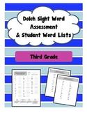 Third Grade Sight Word Assessment (Dolch)