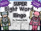 Third Grade Sight Word Bingo