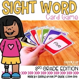 Third Grade Sight Word Card Game
