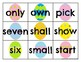 Third Grade Sight Word Cards Easter
