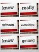 Third Grade Sight Word Flashcards Set 2